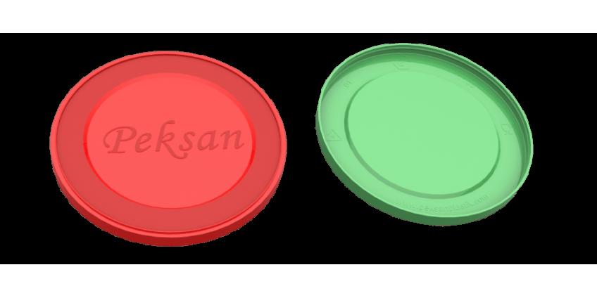 100 mm. Konserve Koruma Kapağı