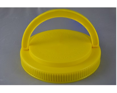 1110 - 110 MM. SCREW-ON ASSEMBLED HANDLE CAP FOR PET JARS